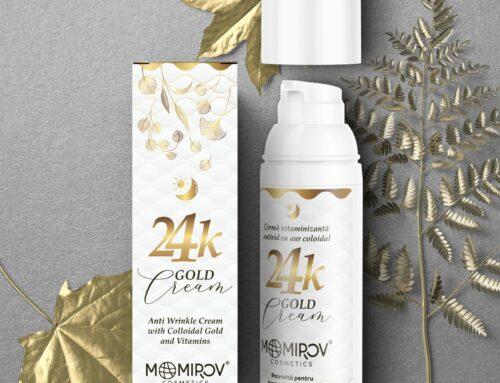 Rămâi tânără cu noul produs Gold Cream de la Momirov